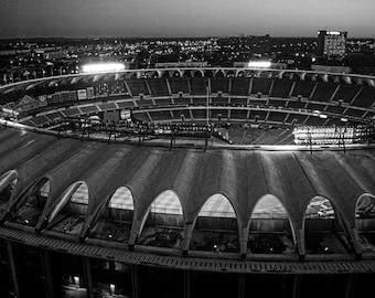 Old Busch Stadium in St. Louis Missouri - Fine Art Photograph Print