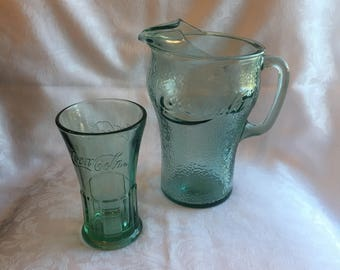 Vintage Coca Cola glassware