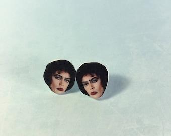 Tim Curry Frank-N-Furter Stud Earrings