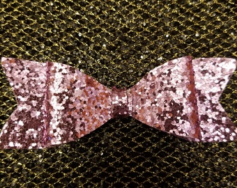 Perfect Pink Sparkle Bow