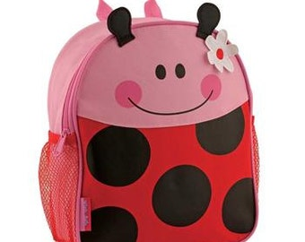 Toddle Backpack - Ladybug Personalized with name