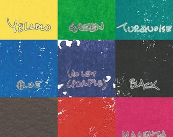 Custom Block Print Reusable Fabric Market 100% Cotton Canvas Duck Handmade Grocery Shopping Tote