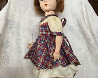 "Madame Alexander 18"" Hard Plastic Walking Doll -1950'S"