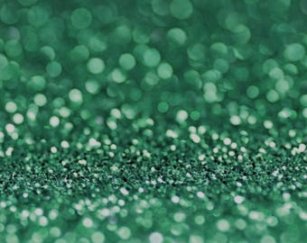 MERMAID BIO GLITTER - Biodegradable Glitter- Green- Festival Bio Glitter- Compostable Glitter - Enviro Glitter- Cosmetic Grade -200 microns