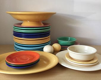 vintage fiesta collection - all or individual pieces