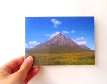 Postal Card - Poetic Landscape 10, Scotland Mountain, United Kingdom