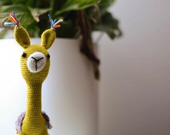 Crochet Alpaca - Llama