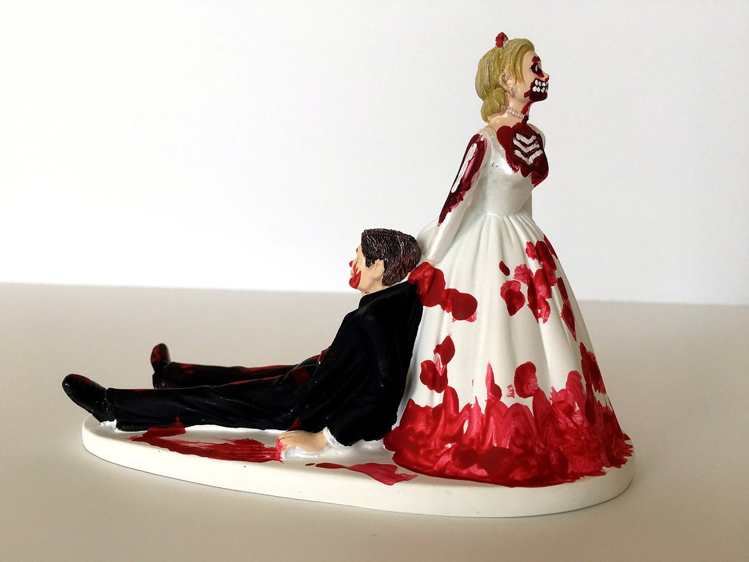 Shark Wedding Cake Topper