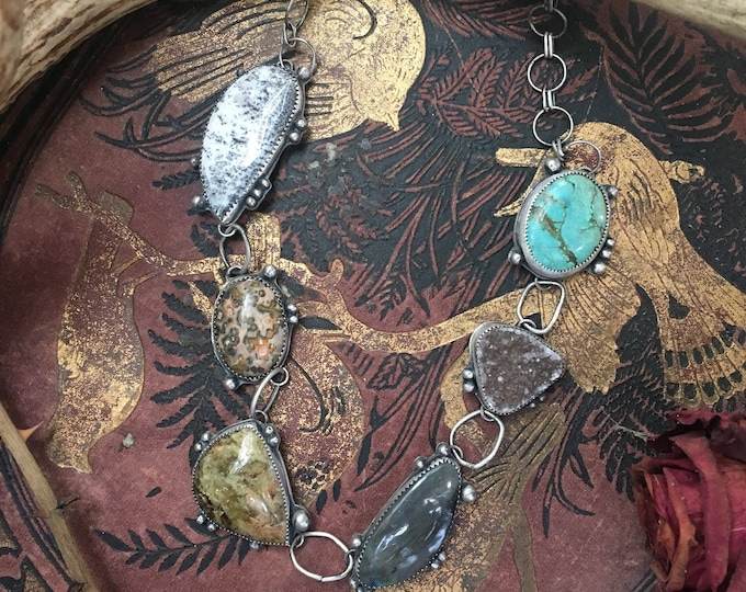 Stone Collector Statement Necklace