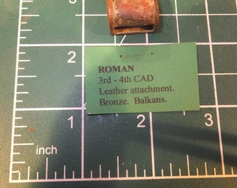 Roman Empire Leather Attachment Bronze