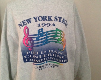 Vintage New York State Band 1994 Sweatshirt
