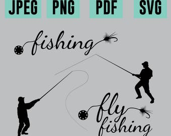Fishing Vectors/SVG