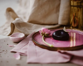 Natural Linen Tablecloth - Cream Linen Tablecloth - Sand Color Organic Tablecloth - Natural Linen Tablecloth - Christmas Tablecloth - Easter