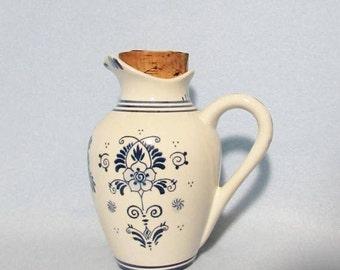 Rare Delft Decanter, Vintage Erven Lucas BOLS Anno Decanter 1575, Made in Holland