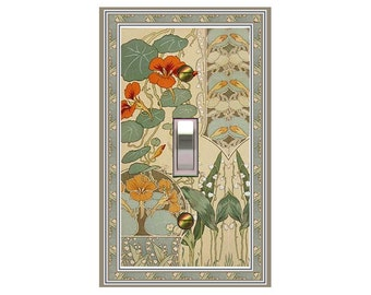 1484X - Botanical Illustration - mrs butler switch plate covers - choose sizes / prices from drop down box
