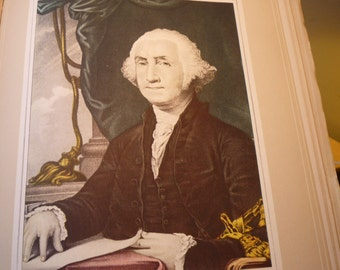 George Washington - Currier and Ives -  Fine Art Print -