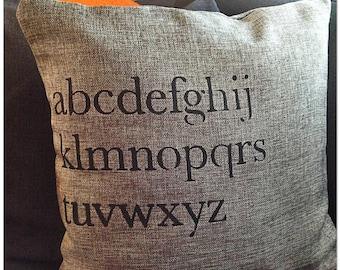 Alphabet Cushion Cover
