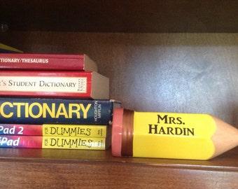 Teacher Desk Accessory-Pencil Customized/Personalized-School