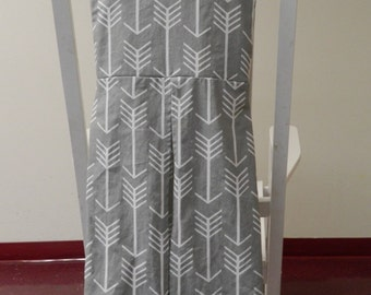 Arrows diaper stacker, Grey and arrow diaper stacker, Tribal diaper stacker