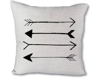 Black Arrow Pillow cover