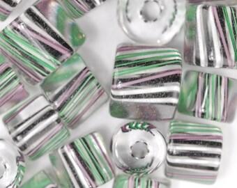 Fiddlers Green David Christensen Furnace Glass Beads (256)