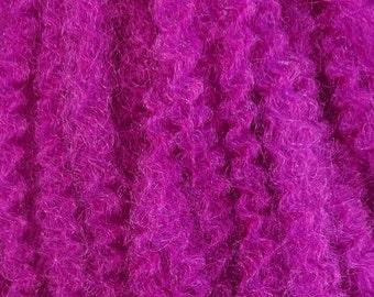 Marley Braid Kanekalon Hair Extensions, Neon Violet