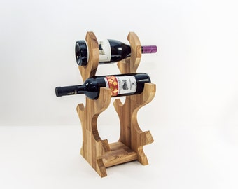 Wine Rack, Rustic Wine Rack, Wine Bottle Holder, Wine Holder, Wine Storage, Wooden Wine Rack, Wine Storing, Wedding Gift Wine
