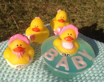 Baby Shower - Rubber Ducky Soap Party Favors *5-15*