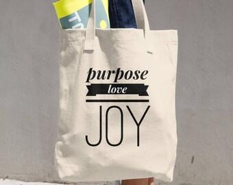 P+L+J Cotton Tote Bag