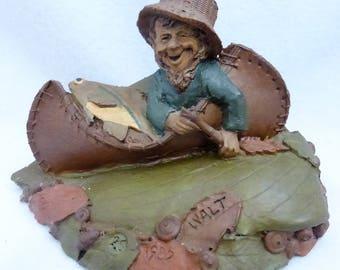 Vintage Cairn Studio Tom Clark Gnome Walt a Fisherman