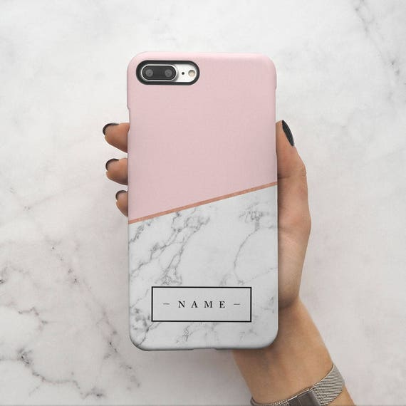 marble initial phone case samsung s7