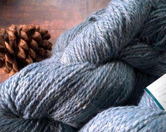 Peace Fleece Volgassippi Blue - worsted weight wool yarn, knitting yarn, blue wool yarn, crocheting yarn, weaving yarn, Foreve Winding Wool