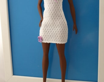 Free shipping! Barbie dress, stretch clothes.