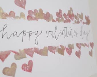 Valentine's Day handmade cards