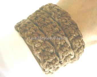 Threaded Bracelet, Coiled Bracelet, Friendship Bracelet, Thirty One, Crochet Bracelet, Wrap Bracelet, Textile Jewelry, Christmas Gift Ideas