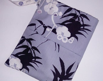 Lilac Japanese Print Drawstring bag