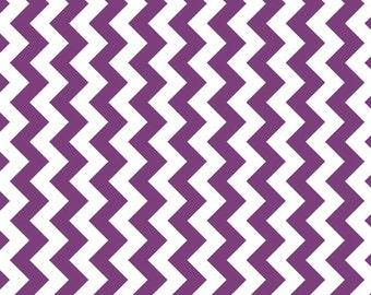 Purple Chevron Fabric by Riley Blake Basics - MC340-125 Purple Extra Wide Cotton Fabric - Quilting Cotton - Cotton Chevron - Sewing Fabric