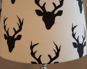 Woodland lamp etsy deer lamp shade mozeypictures Gallery