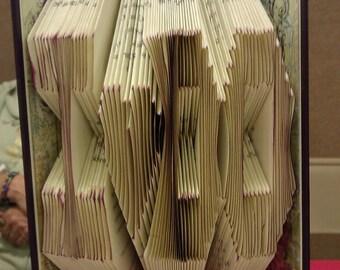 "Folded Book Art ""I DO"" - Made to Order"