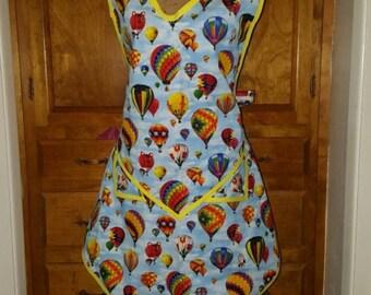 Hot Air Balloons apron