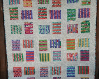 Raised Beds a patchwork, layer cake friendly, beginner quilt pattern