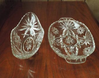 Vintage Relish Dishes; Condiment Dishes; Candy Dishes