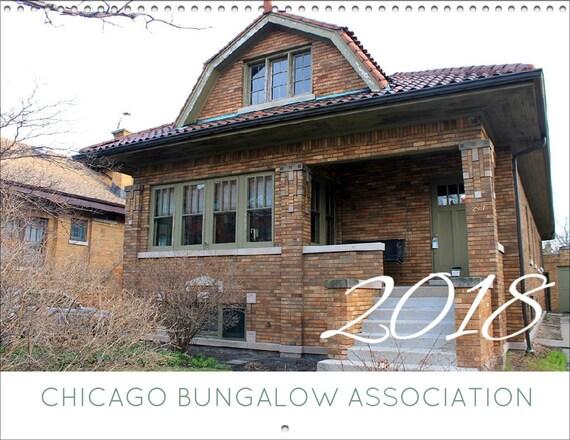 REDUCED PRICE 2018 Chicago Bungalow Calendar