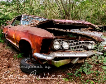 1964 Buick Riviera with Headlight Clamshells Photograph