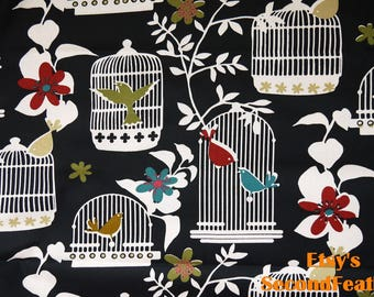 Birdcage - Design by Richloom - Cotton Fabric - 1 Yard - more for one cut