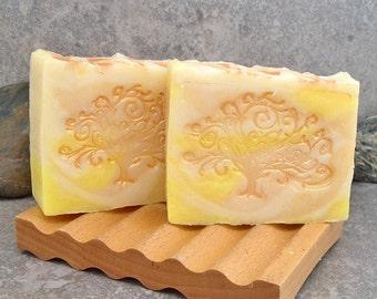 Citrus Sunshine Cold Process Decorative Bar Soap