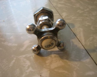 Antique Vintage Cold Water Faucet Part