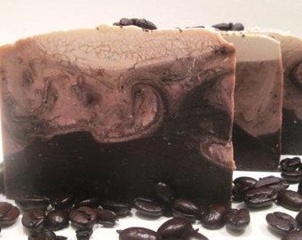 Mocha Latte Coffee Handmade Cold Process Soap