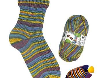 Opal Sock yarn Regenwald Rainforest XIII, 100g/465 yds, #9450