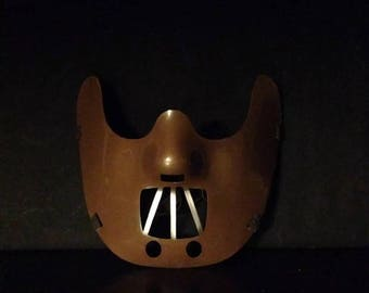 Silence of the Lambs HANNIBAL LECTER Corffee Mask HALLOWEEN Costume Party Horror